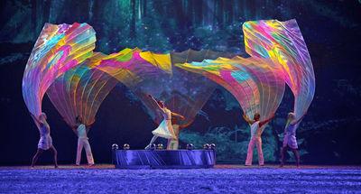 """Tänzer: APASSIONATA Dance Company & ExperiDance in """"Die goldene Spur"""" 2014-2015"""